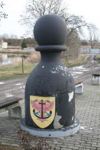 Karlštejnské šachy - Černý pěšec Drahelčice