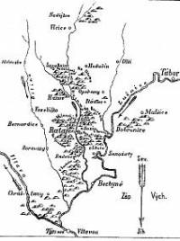 mapa J.K.Hraše