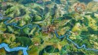 hezký náčrtek mapky okolí z navštiveného místa