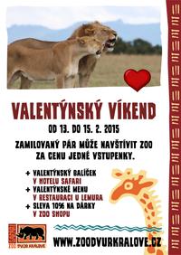 Valentýn v ZOO Dvůr Králové nad Labem