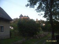 hrad Lipnice z trochu netradičního pohledu