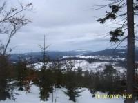 Příchovice - chata Hvězda - Hutterův kříž - Pod Tetřeví boudou a zpět - na běžkách