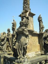 sloupy Panny Marie a Nejsvětější Trojice