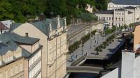 Karlovy Vary - pohled na řeku Ohři