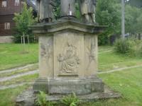 Mariánský sloup v obci Potštejn