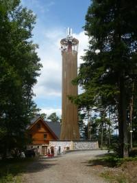 Rozhledna na Stráži- Sloup v Čechách