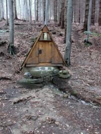 Smradlavá voda, dobře ukrytá v mikulůveckých lesích