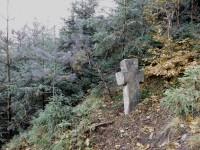 Velká sázka o malý smírčí kříž. Bystřec. Orlické hory.