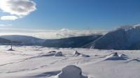 Podhled směr Obří důl