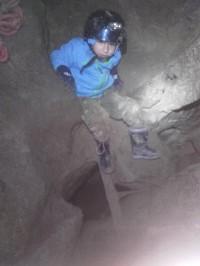 Jeskyně Netopýrka zdolána 5-ti letým chlapem