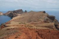 Přechod Madeiry (2) - vyprahlým poloostrovem Säo Lourenco.