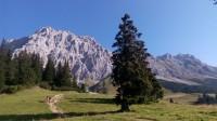 Výstup na Zugspitze z Ehrwaldu přes Innere