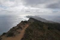 Přechod Madeiry (3) - konečně voda a první levády.