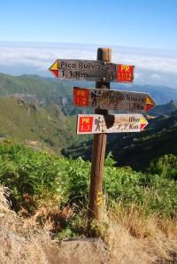 Přechod Madeiry (6) - Přes nejvyšší místa Madeiry.