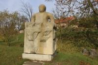 Uherský Brod - sochy ze sochařských sympozií