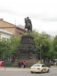 Jezdecká socha Bedřicha Velikého