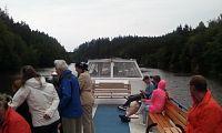 Plavba z Hluboké do Purkarce