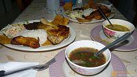 Stravování v Kostarice? Prosté a chutné