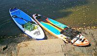 Na paddleboardu po Vltavě (úsek Davle - Modřany)