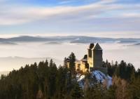 Zimní prohlídky hradu Kašperk 2014