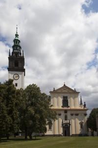 Věž u katedrály sv. Štěpána Litoměřice