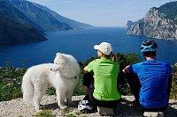 Dovolená se zvířecími mazlíčky u Lago di Garda