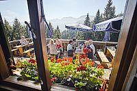 První vegetariánská horská chata v Alpách