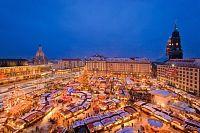 Vánoční trhy, advent - Drážďany 2017