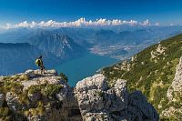 Trek na jezeře Garda, koruna Garda Trentino