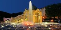 Slavnostní zahájení Zpívající fontány v Mariánských Lázních
