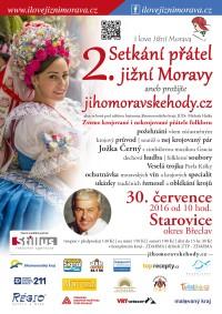 Oslava krojů i folkloru. Do Starovic se opět sjedou přátelé jižní Moravy!
