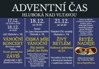 Advent v okolí Hluboké letos spojí Řetěz naděje