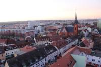 Schwed/Oder pohled z kostelní věže