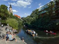 Vodní město Lipsko - Na objevné plavbě člunem