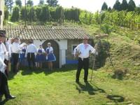 Foto: Zarážání hory Šardice 2011; archiv obce Šardice