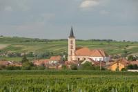 Foto: Panorama Velkých Bílovic;; archiv města V. Bílovice