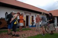 Tour de vinohrad Mikulčice - Zastávka na Starém kvartýru; archiv penzionu Mikulčice