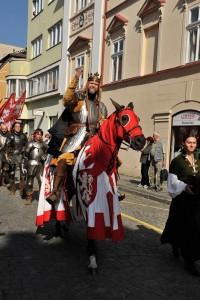 Foto: Litoměřické vinobraní - historický průvod; archiv www.vinazcech.cz