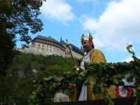 Foto: Karlštejnské vinobraní; archiv Vinařského fondu