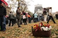 Svatomartinské náměstí Jiřího z Poděbrad; foto: Farmářské trhy