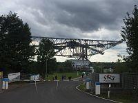 F60 - obří důlní dopravník, Lichterfeld, Lužicko