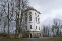 Barokní věž - Zámeček - Rudoltice