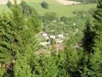 Pohled na obec Březová