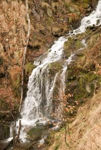 Slavíč - Suché vodopády