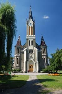 Evangelický kostel - portál