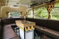 Luxusní interiér autokaru