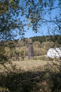 Zvonička nad Horní Lipkou