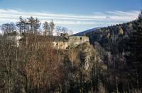 Hradní část zámku