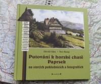 Putování k horské chatě Paprsek na starých pohlednicích