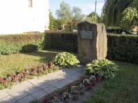 Vizovice – pomník Aloise Háby